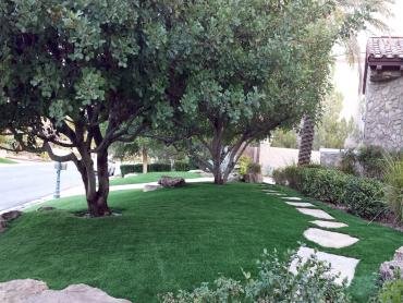 Fake Grass Bloomington, California Lawn And Landscape, Front Yard Ideas artificial grass