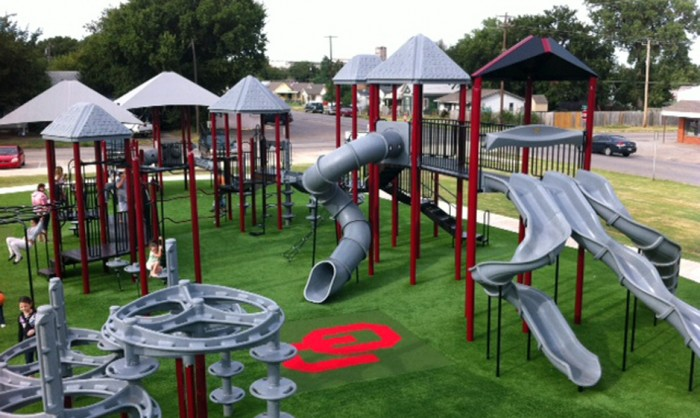 Artificial Grass for Playgrounds in Irvine